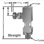 Sight Feed Valve